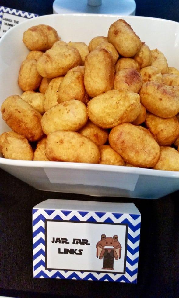 Boys Stars Wars Birthday Party Food Ideas
