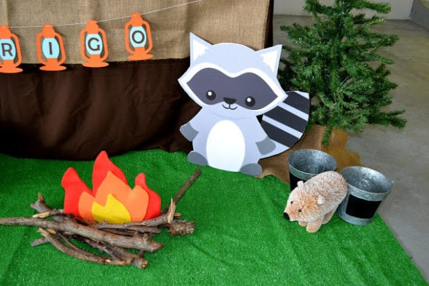 Boys Woodland Themed Party Animals