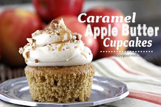 Caramel-Apple-Butter-Cupcakes-Recipe