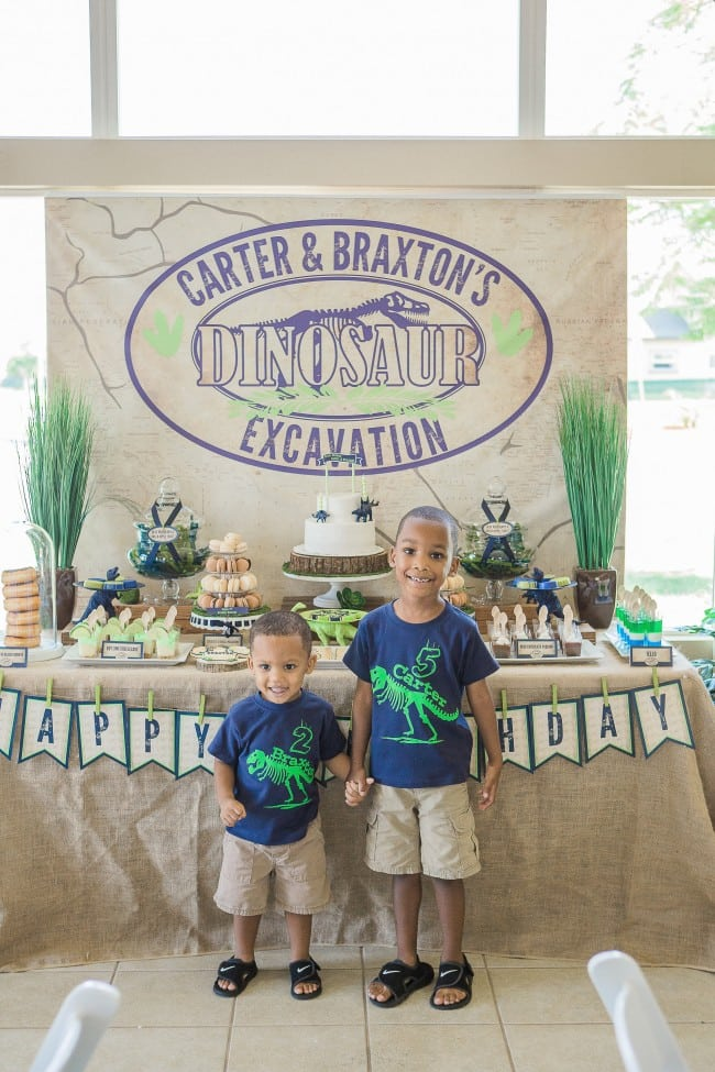 Boys Birthday Themed Party Shirts