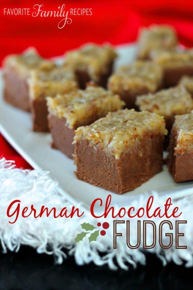 Fudge German-Chocolate-Fudge
