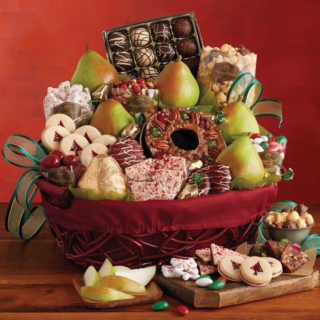 Harry & David Christmas Gift Basket