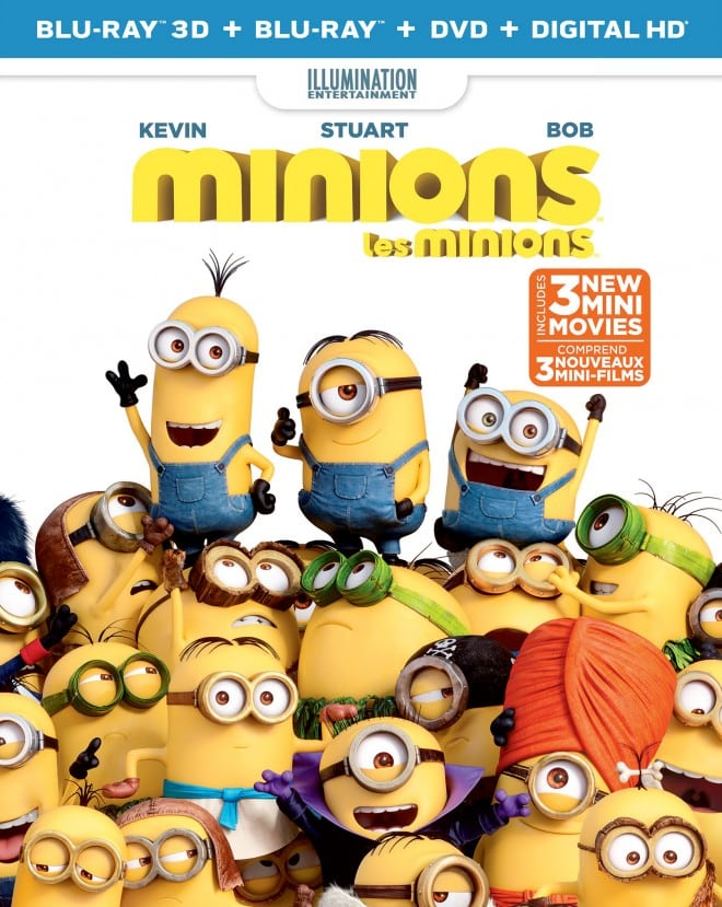 Minions on Bluray