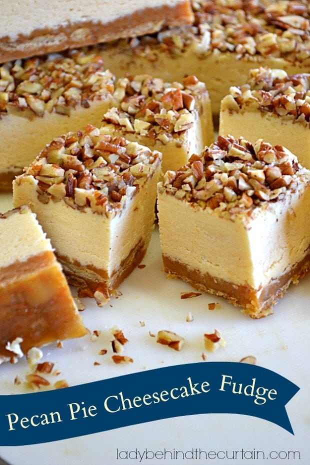 Pecan-Pie-Cheesecake-Fudge