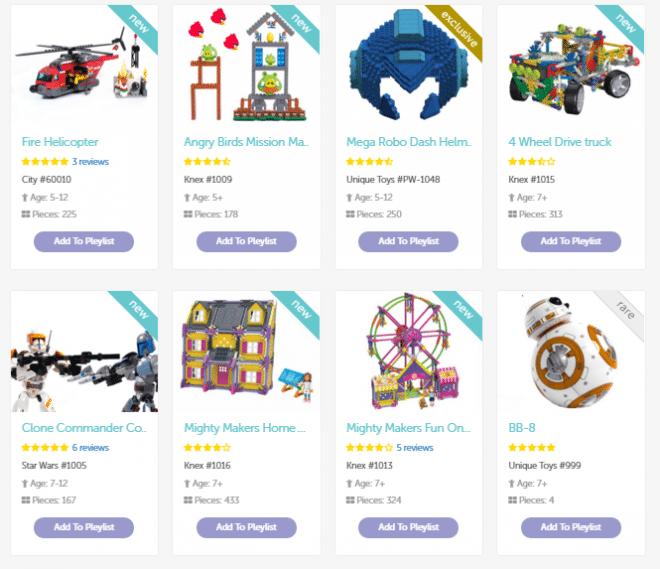 Toys on Pley