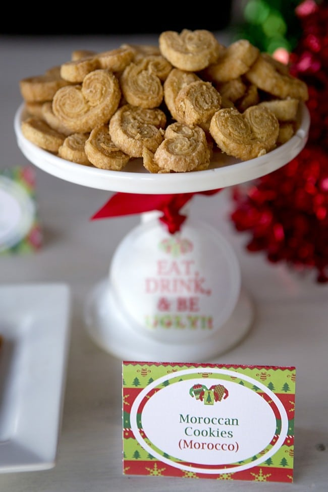 Ugly Sweater Moroccon Cookies