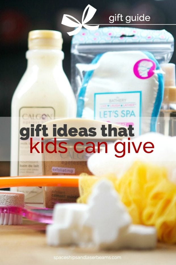 Gift Ideas That Kids Can Give