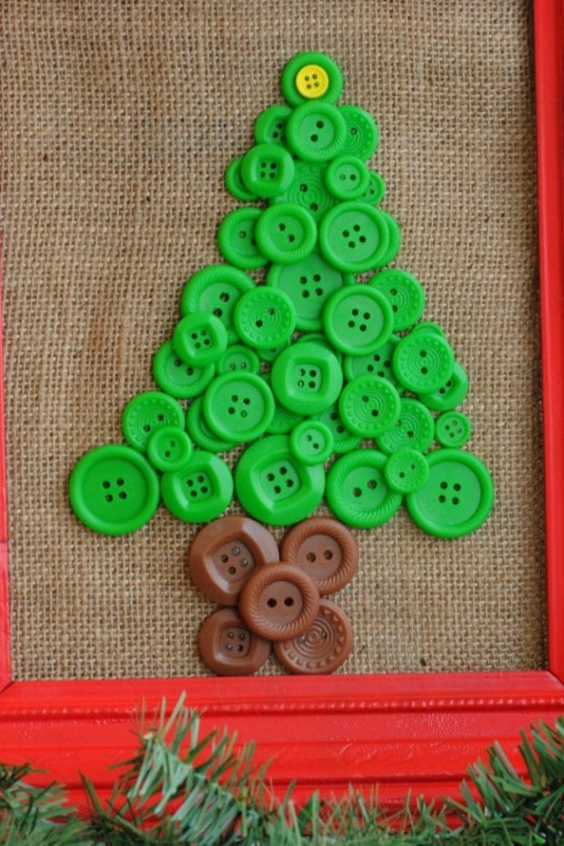 Button Trees Ornament