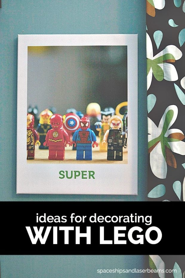 Ideas for Decorating with LEGOs