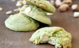 Pistachio Pudding Cookies