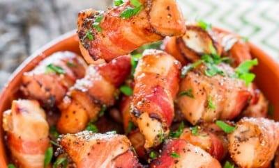 feature-Sweet Chicken Bacon Bites