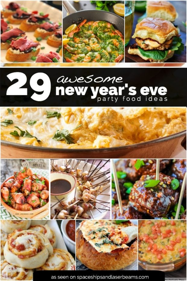 menu ideas for new years eve dinner party