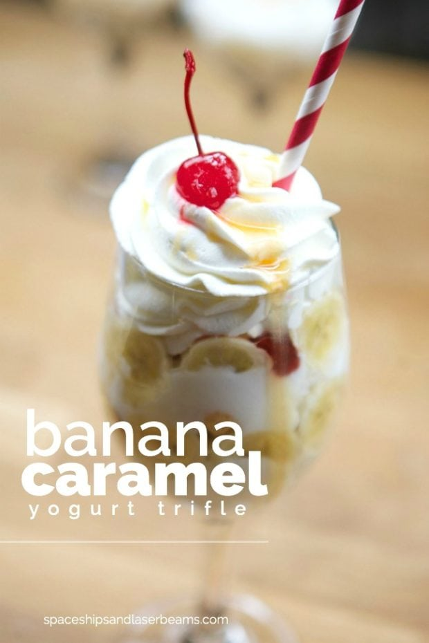 Banana Caramel Yogurt Trifle