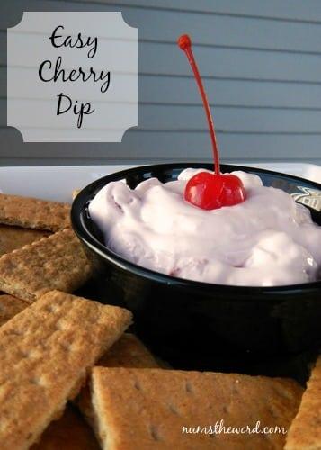 Easy Cherry Dip