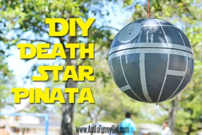 DIY Death Star Pinata