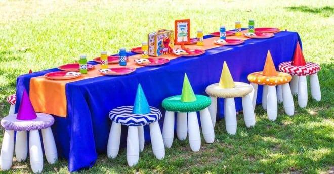 Sesame Street Table Settings