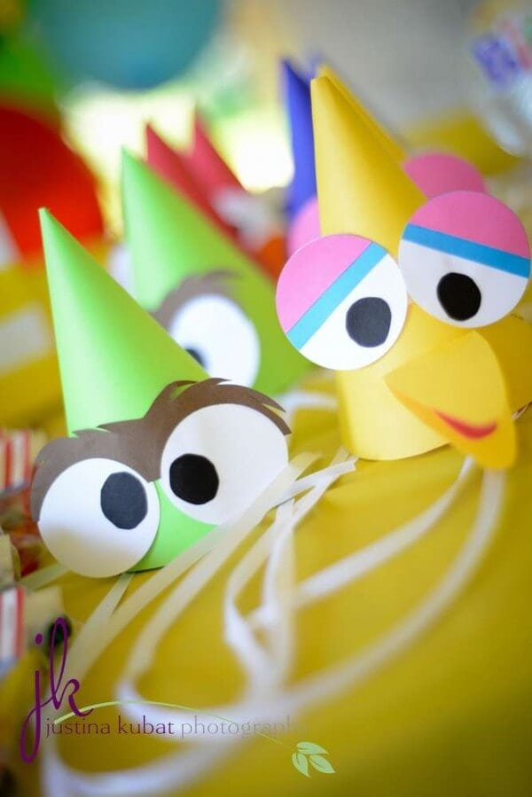 Sesame Street Party Hats