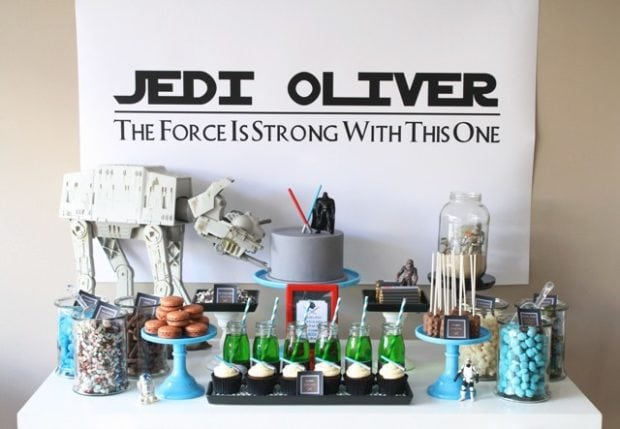 Star Wars Dessert Table Photo