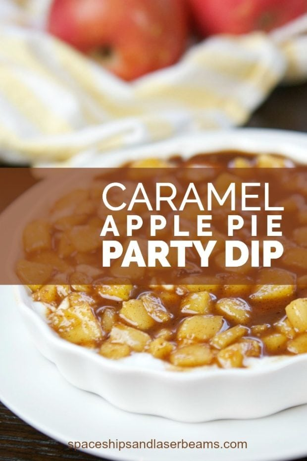 Try Spaceships and Laser Beam's caramel apple party dip for a sweet alternative to traditional dips.