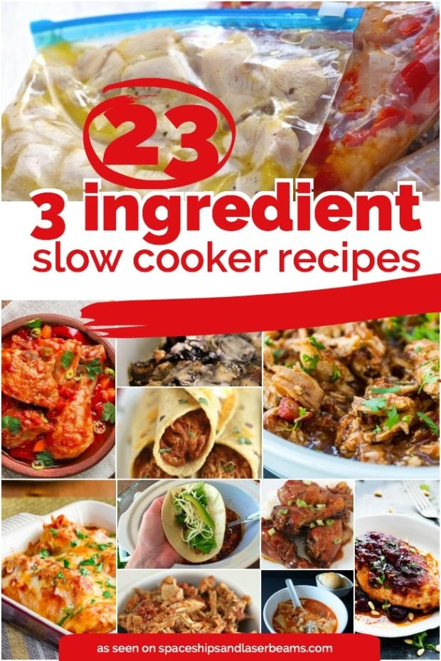 23 quick easy 3 ingredients or less slow cooker