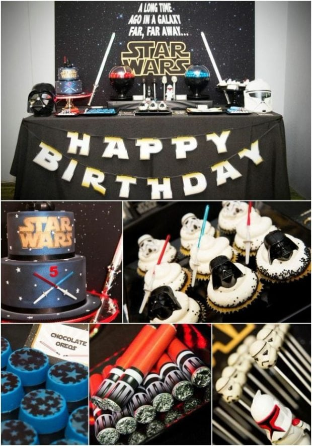 Evil Star Wars Dessert Table