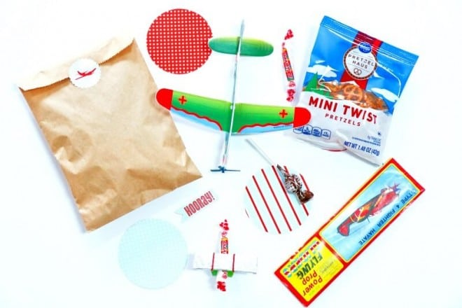 Airplane Themed Birthday Party Favor Ideas