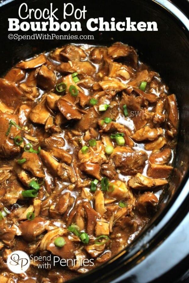 Best Crock-Pot-Bourbon-Chicken