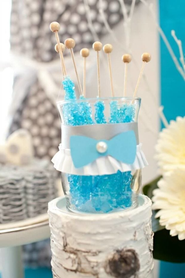 Boys Bow Tie Themed Candy Birthday Party