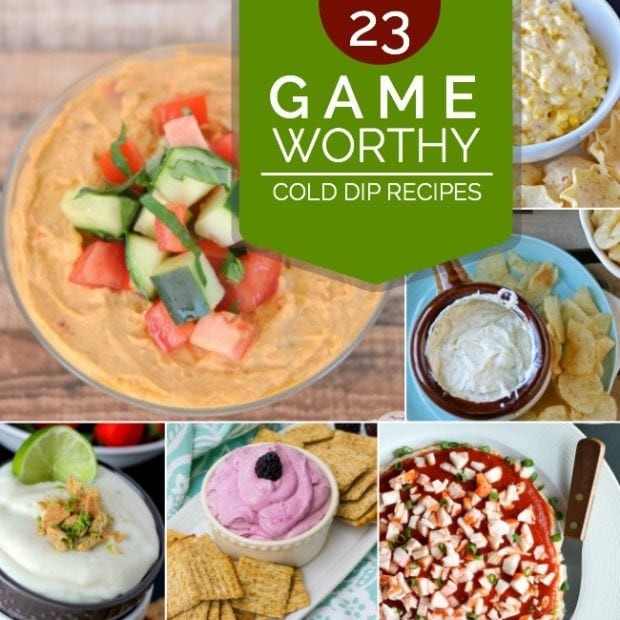 23 Game Worthy Cold Dip Recipes