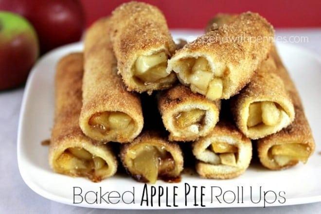 Favorite Applie Pie Roll Ups