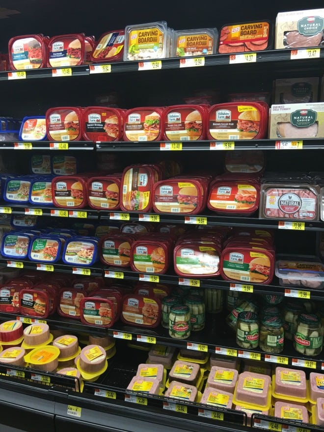 Hillshire Farms Lunchmeat at Walmart