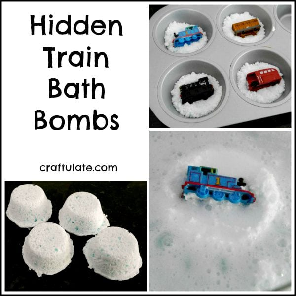 Popular Train Bath Bombs