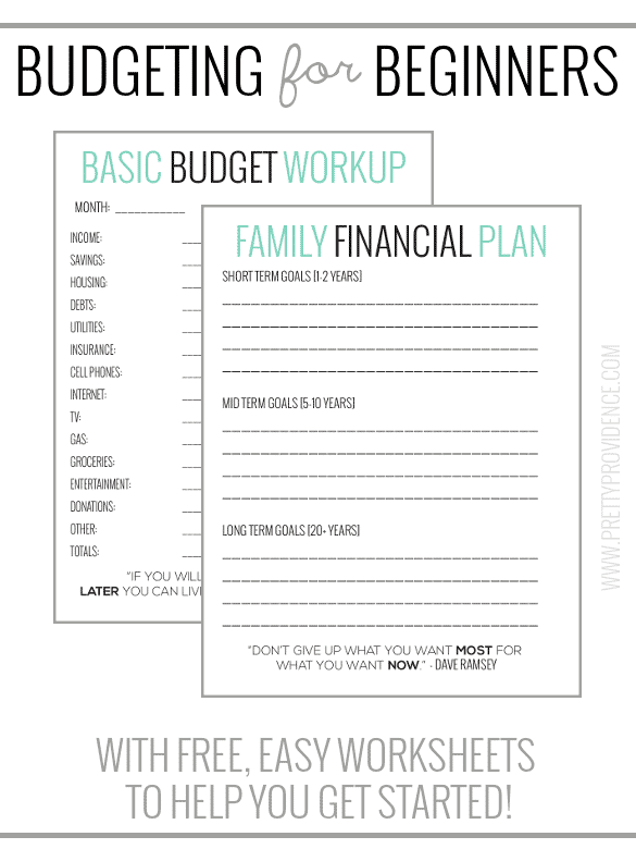 Basic Budgeting for Beginners