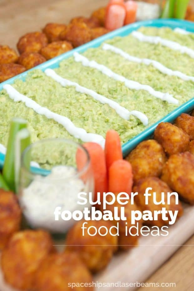 Cool Football Party Food Ideas
