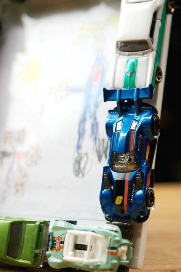 DIY Hotwheels Car Picture Frame