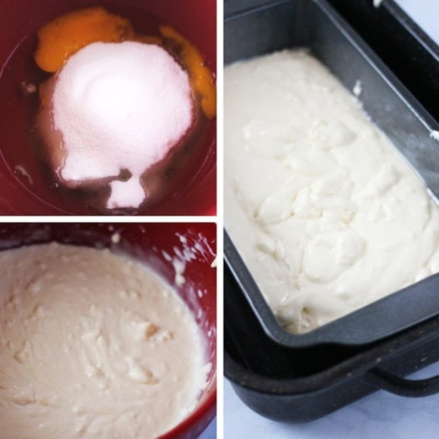 Making the cheesecake for a red velvet cheesecake. Easier than you think!