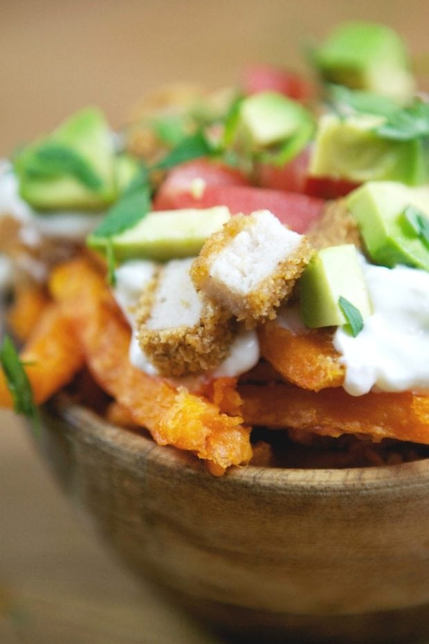 Recipe for Loaded Sweet Potato Fries