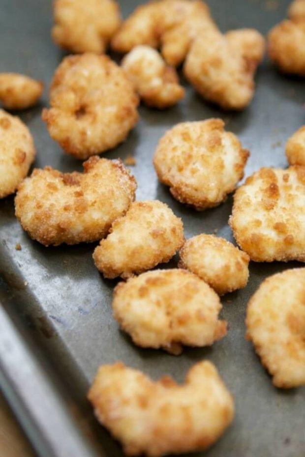 Popcorn Shrimp for Salad