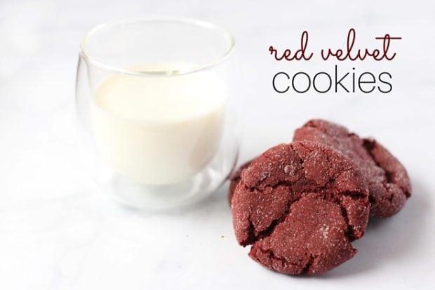 red velvet cookie recipe - fb