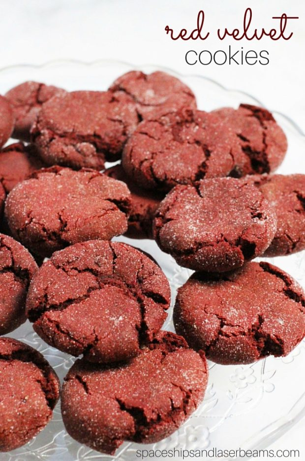 Spaceships and Laser Beams has the best red velvet cookie recipe that you need to try.