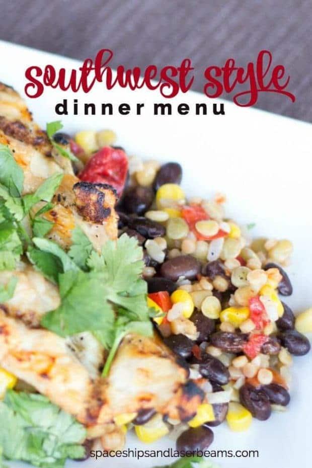Southwest Style Dinner Ideas