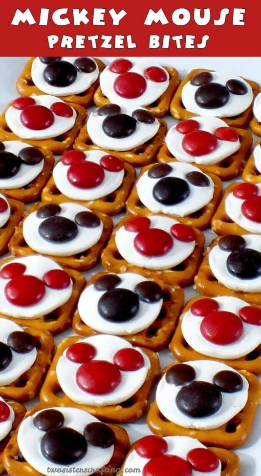 1 Mickey Mouse Pretzel Bites
