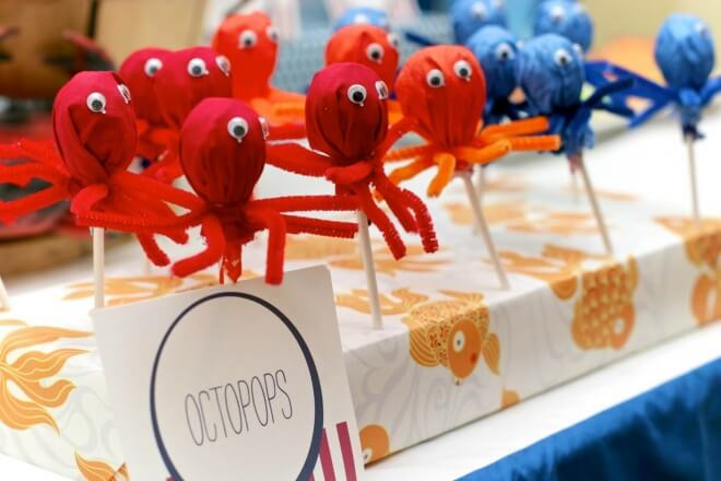Octopus Lollipops