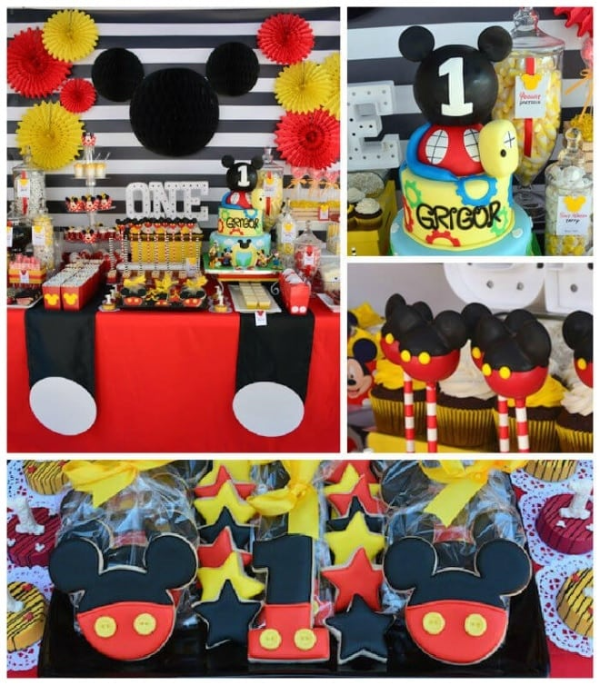 11 Mickey Mouse First Birthday Party