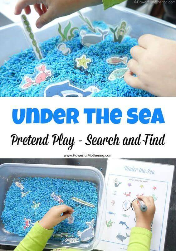 Under the Sea Search & Find Game