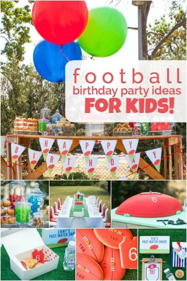 13 kids-football-birthday-party-ideas