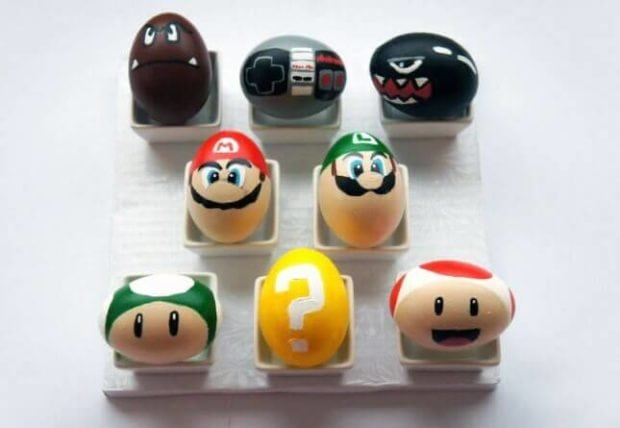 Adorable Mario Brothers-inspired Easter Eggs!