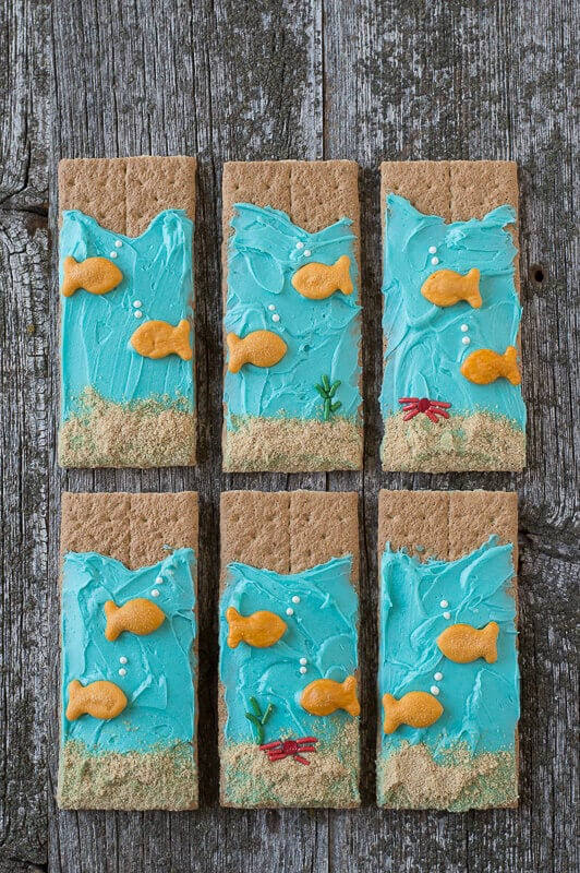 Under the Sea Graham Cracker