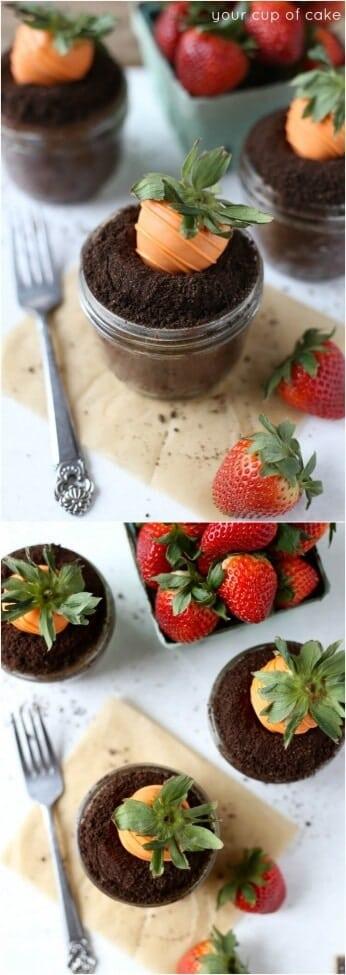 Cute-Garden-Carrot-Cupcake
