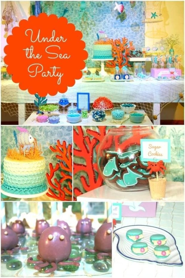 23 Enchanting Under the Sea Party Ideas - Spaceships and ...